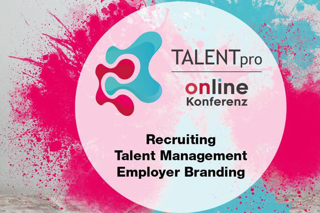 Logo Talentpro online Konferenz